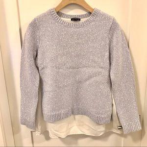 Club Monaco Sweater with Inner Shirt